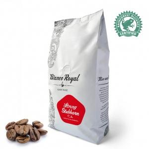 Robuuste Fairtrade Krachtige Koffiebonen Rainforest Alliance